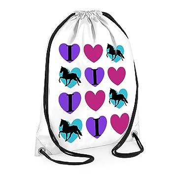 d23b777fe66f tigerlilyprints I love Horses Swim Bag