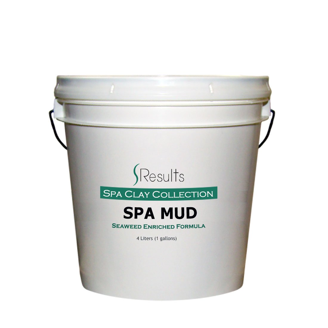 Spa Mud (Seaweed) Body Wrap Detox & Anti-cellulite Slimming Formula - x-large 1 gallon (4 liter) by SResults