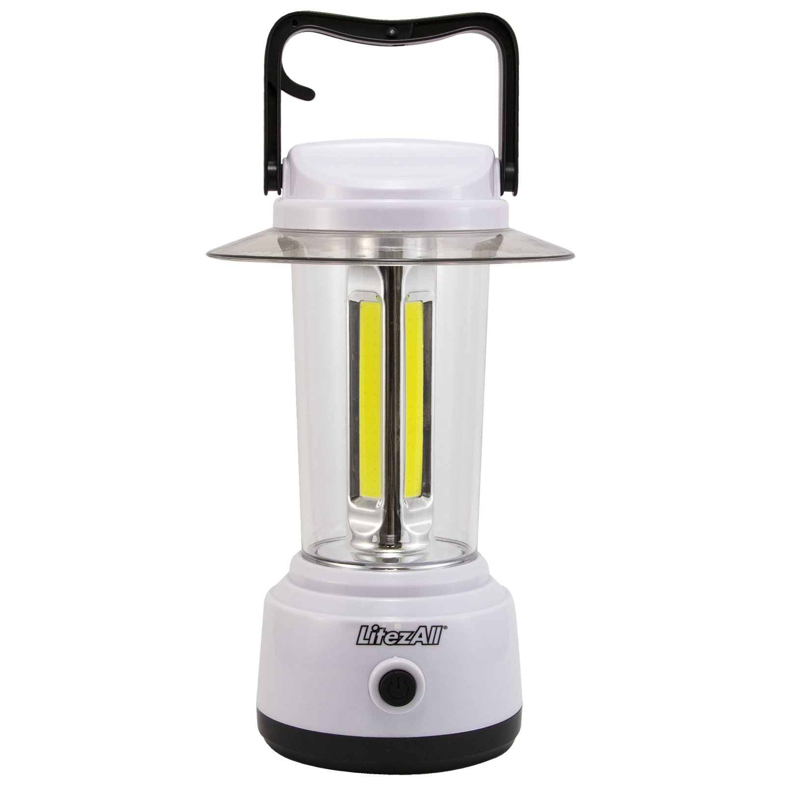 LitezAll 1750 Lumen COB LED Camping Lantern/Workshops, Home, Cabin, or Anywhere (Last to 115 hrs) 100% MFG Guarantee