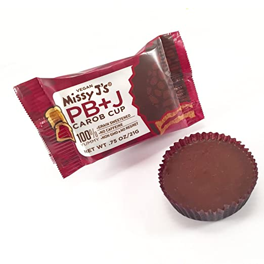 Missy J's Snacktastic Pb & J Carob Cup. 12 delicious cups