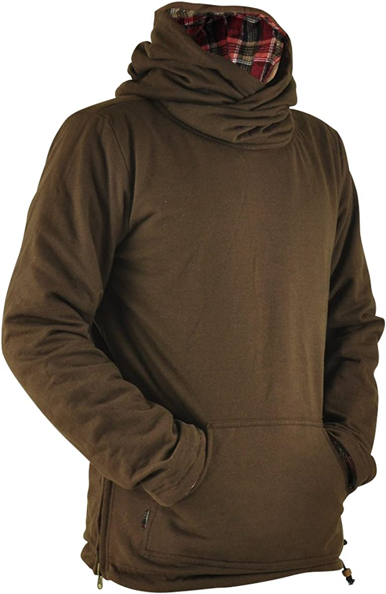 virblatt Sweater Hombre Cardigan con Capucha Sudadera Chico Ropa ...