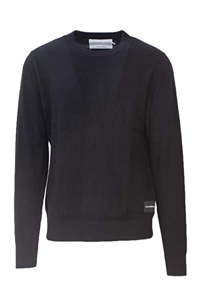 outlet b74d5 ff53b Calvin Klein JEANS MAGLIONE UOMO CASHMERE BLEND ...