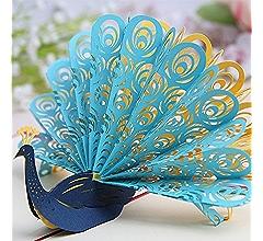 Handmade Happy Birthday 3D Pop Up Greeting card Anniversary 171 Swan
