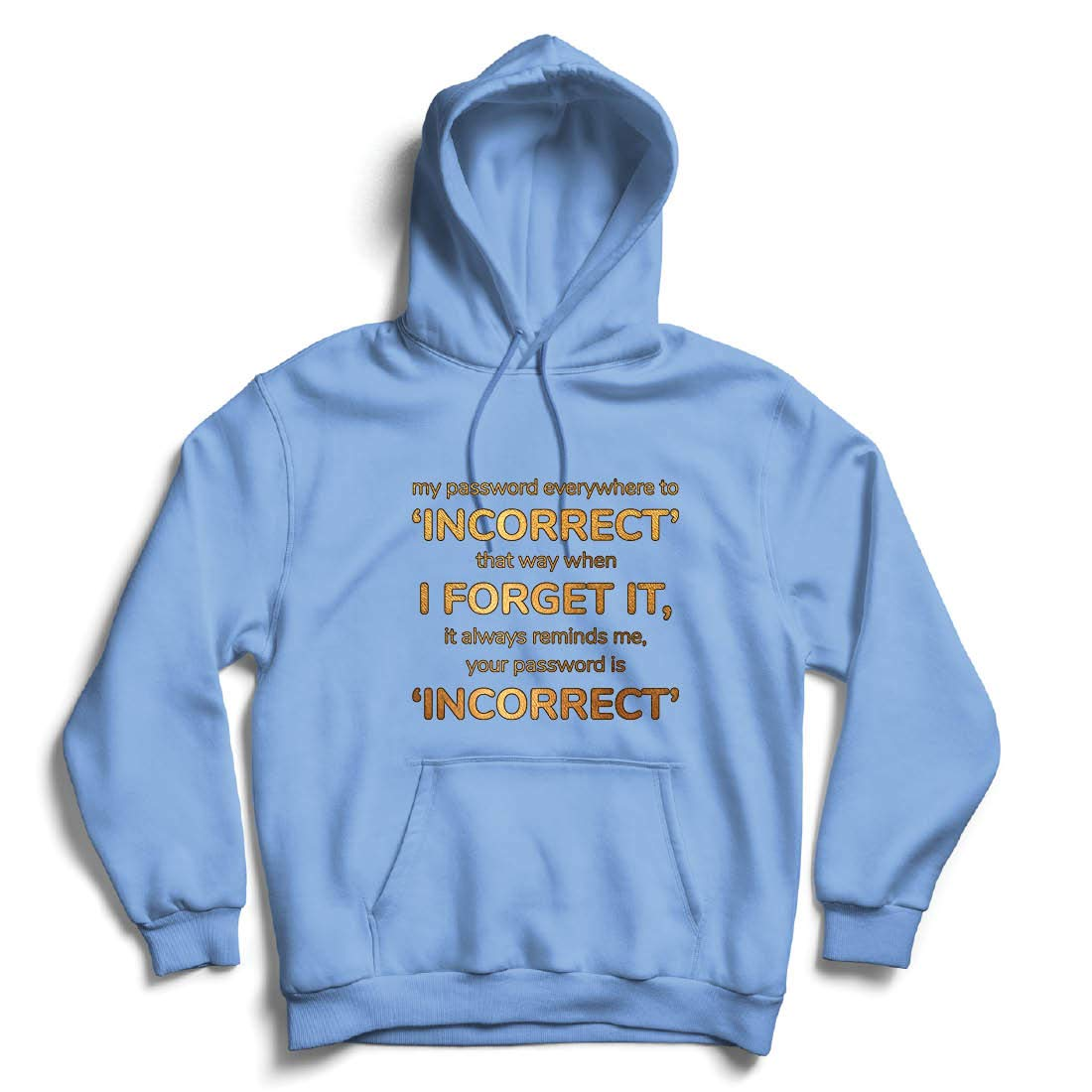 lepni.me Unisex Hoodie How to Create a Secure Password Programmer Gamer Internet Fun Gift