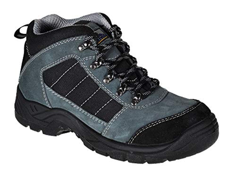 Portwest Steelite Trekker Boot Black 10 R & Bandana Bundle
