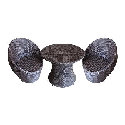 Mavi Black Outdoor Furniture Set