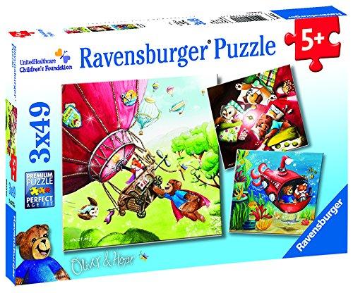 Ravensburger UnitedHealthcare Children 's Foundation : Oliver & & Hope x )パズルin 's ( 3 x 49-piece )パズルin aボックス B079SRHBL2, 創新:85d3d0da --- ero-shop-kupidon.ru