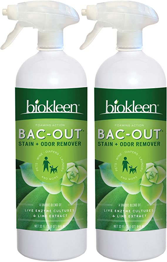 Biokleen Bac-Out Stain + Odor Remover Foam Spray
