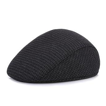 Otoño de mediana edad y el invierno por delante del sombrero de frío al  aire libre cálido caliente oídos para enviar el regalo de mi padre   Amazon.es  Ropa ... fcc51994feb