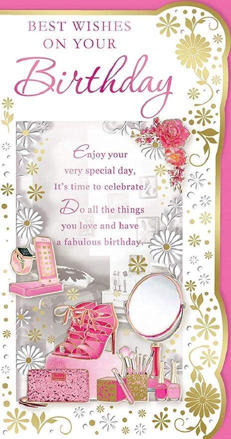 Auguri Di Buon Compleanno 9 Anni.Open Femmina Biglietto Di Auguri Di Buon Compleanno