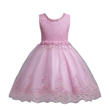 Vestido para niñas, vestido de tul de Sonnena de princesa formal, vestido de dama