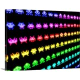 Michael Tompsett Premium Thick-Wrap Canvas Wall Art Print Entitled Space Invaders 24