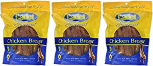 (3 Pack) Cadet Gourmet Chicken Breast Healthy Natural Dog Treats, 14 Ounces Per Bag