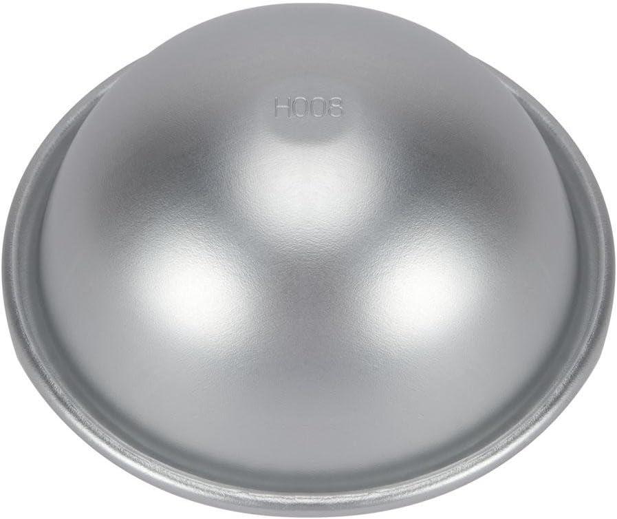 10cm Halbkreisform Aluminium Hemisph/äre Chiffon Kuchenform Runde Kugel Kuchenformen Kuchen Dessert Pudding Backform