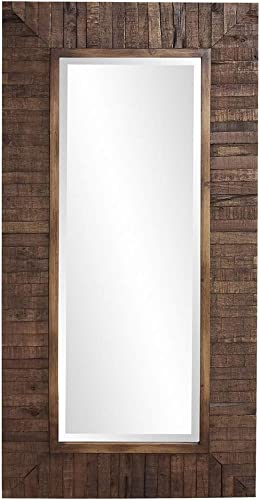 Howard Elliot Timberlane Rustic Wall Mirror