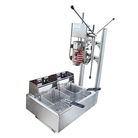 Máquina manual para hacer español, con soporte, manual comercial ...