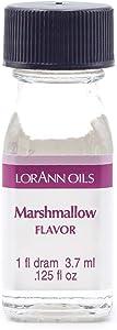 LorAnn Marshmallow Super Strength Flavor, 1 dram bottle (.0125 fl oz - 3.7ml)