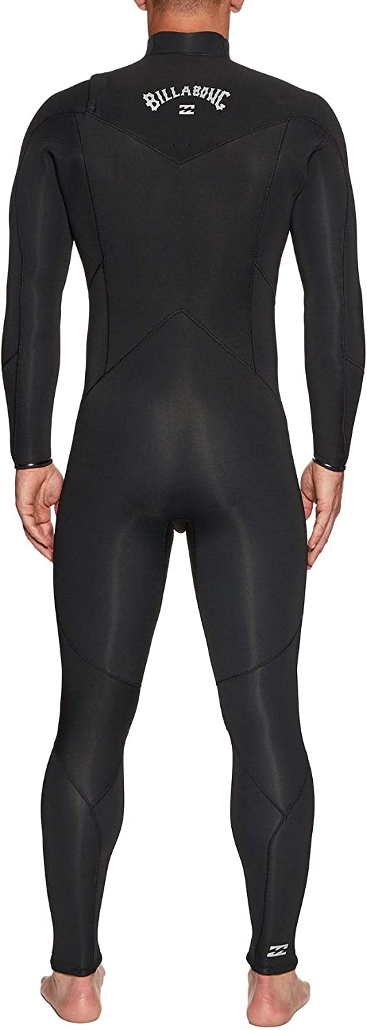 Billabong Mens Furnace Absolute 5//4mm Chest Zip Wetsuit Black Sand Thermal Warm Heat Layer Layers Furnace Lining Easy