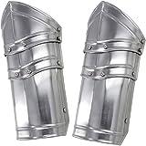 Battle Ready Armor Vambraces 18G Steel Pair