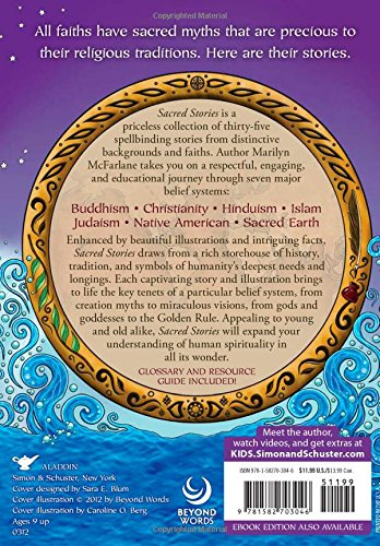 Sacred Stories: Wisdom from World Religions by Aladdin/Beyond Words (Image #1)