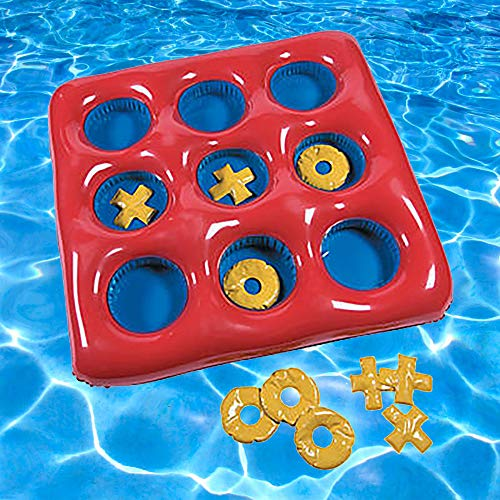 (Inflatable Tic-Tac-Toe Float Game)