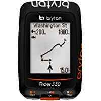 Unbekannt Bryton Rider 330C, Computer GPS mit Geschwindigkeitsmesser Unisex–Erwachsene, schwarz, M