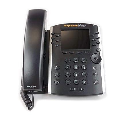 Amazon com : Polycom VVX 410 IP Phone for RingCentral (2314