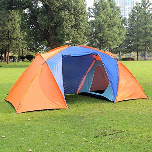 Outdoor-Camping-Double-Layer-2-4Person 1 Halle 2 Zimmer-Zelt