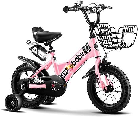 JINHH Bicicleta para Niños 2-3-4-6-7 Años Viejos Hombres Y Mujeres Bicicleta Bicicleta Deportiva Al Aire Libre: Amazon.es: Deportes y aire libre