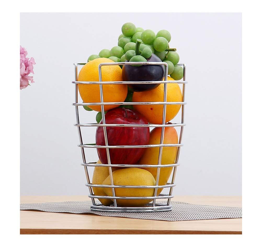 KDJHP フルーツバスケットクリエイティブフルーツプレート太い線背の高い皿フルーツ皿錬鉄製のフルーツトレイComport -フルーツバスケット   B07PF5WVF8