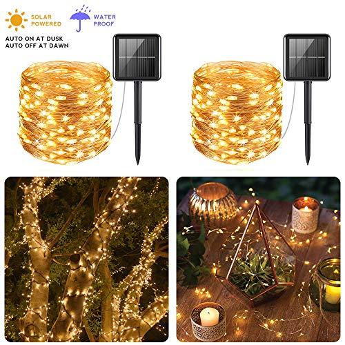 Solar Powered 100 Led String Lights