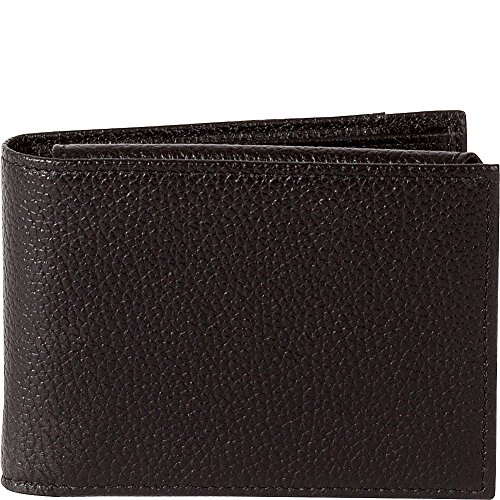 ID Pink Garth Wallet With Passcase amp; Navy Black RFID Boconi Flip vwqXExdwg