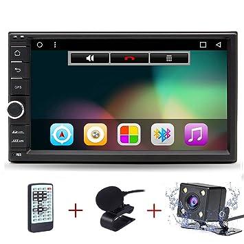 Junsun 8 Pulgadas Reproductor de DVD 1080P HD Navegador GPS para Coche con Bluetooth FM Micrófono para VW Golf 4 5 Polo Bora CC Jetta Passat Tiguan ...