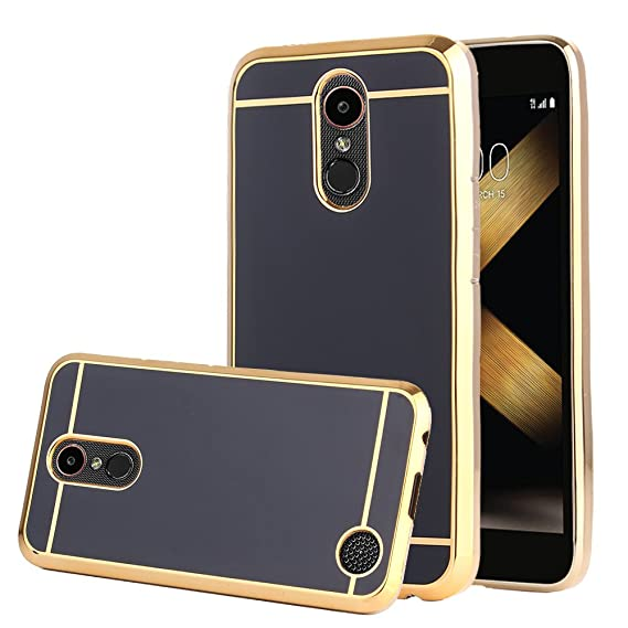info for 5645b 3f380 TabPow LG K20 Plus Case, Electroplate Slim Glossy Finish, Drop Protection,  Shiny Luxury Case For LG K20 V / LG K10 2017 / LG Harmony / LG Grace - ...