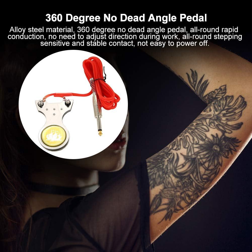 Máquina de tatuaje con cable con pedal y interruptor ...