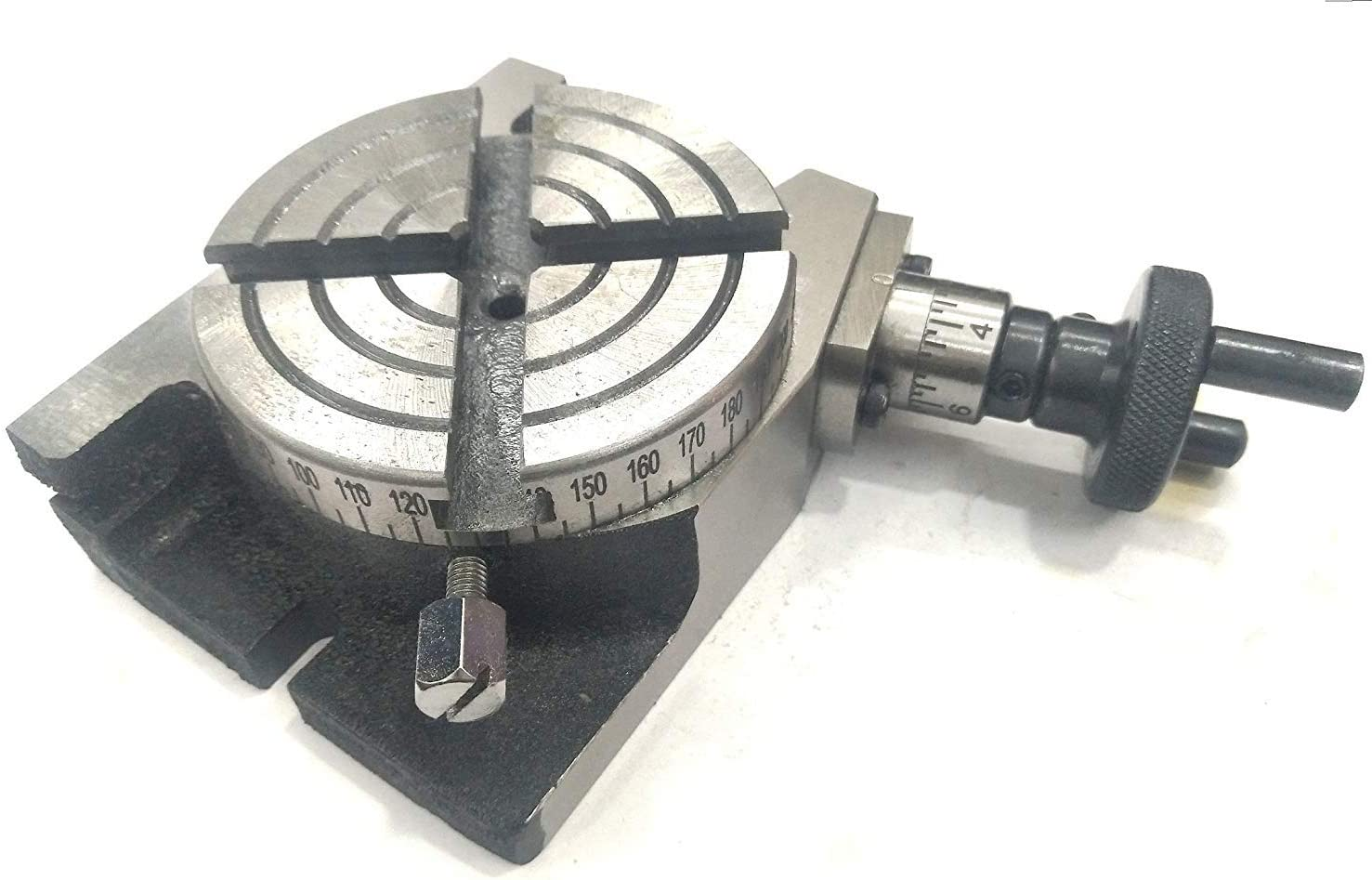 """New 4/"""" Inches 100 mm Quality Regular Rotary Table for Milling Machines"""