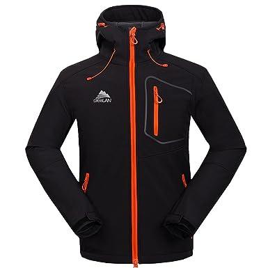 bosozoku mens waterproof hiking camping jacket travel windproof soft