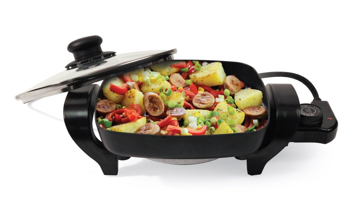 Nesco ES-08 Electric Skillet, 8-Inch