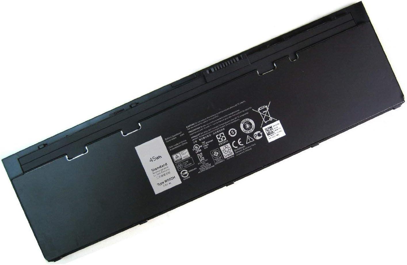 SERNN WD52H Replacement Laptop Battery (7.4V 45Wh) for DELL Latitude F3G33 E7240 VFV59 KWFFN J31N7 451-BBFW 451-BBFX GD076 GVD76 HJ8KP NCVF0
