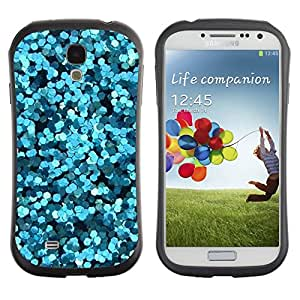 Suave TPU GEL Carcasa Funda Silicona Blando Estuche Caso de protección (para) Samsung Galaxy S4 I9500 / CECELL Phone case / / Sparkly Water Bubbles Abstract Light /