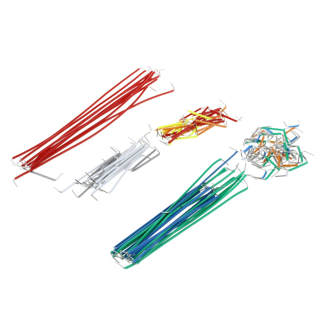 Sodialr 140pcs U Shape Solderless Breadboard Jumper Cable Wire Kit Printed Circuit Board China Gua For Arduino Shield