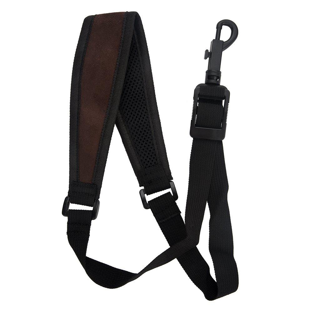 Saxophone Strap, Adjustable Single Shoulder Sax Strap Portable Cotton Neck Sax Strap(Folk Style) Dilwe Dilwewpymxv4u1k-03
