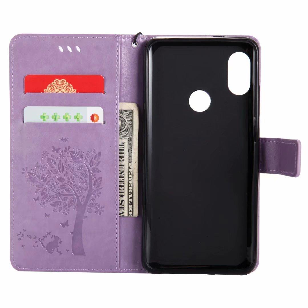 Schutzh/ülle Leder Tasche Flip Case f/ür Xiaomi Mi 8 Handy H/üllen Lederh/ülle Handytasche D/ünn Silikon Case Leder Magnet Cover f/ür Xiaomi Mi 8,H/ülle Rosa Hancda H/ülle f/ür Xiaomi Mi 8