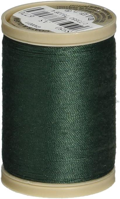 Coats Thread /& Zippers and Clark Dual Duty XP Heavy Green Linen 125-Yard