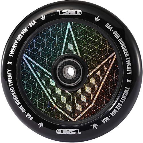 Envy Scooters Hollow Core Wheels 120mm Hologram Geo (Pair) (Geo)