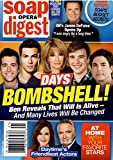 Soap Opera Digest Magazine - October 9, 2017 - Freddie Smith, Robert Scott Wilson, Deidre Hall, Chandler Massey & Bryan R. Dattilo (Days of Our Lives)