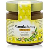 Sanct Bernhard Manuka-Honig MGO 500+ 100 % rein, aus Neuseeland, mit antibakterieller Aktivität, Inhalt 250 g