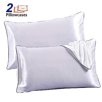 Amazon.com: JINHONGRUI - Juego de 2 fundas de almohada de ...