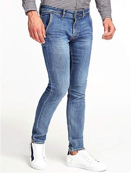 Guess Jeans Adam Super Skinny Uomo M01A81D3YD2 Lavaggio