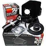 08-14 Subaru Impreza WRX 2.5L H4 K&N Typhoon Cold Air Intake Kit + Filter Black 69-8004TTK